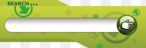 Green Search Box - Search Box Button Search Engine PNG