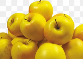 Yellow Apples - Paradise Apple Apple Icon Image Format Food PNG
