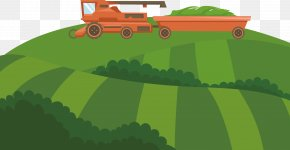 Field Vector Farming - Agriculture Euclidean Vector Vector Field PNG