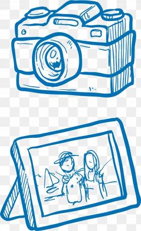 Camera Frame Vector Elements - Camera PNG
