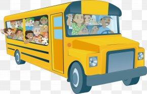 School Bus - School Bus Tour Bus Service Clip Art PNG