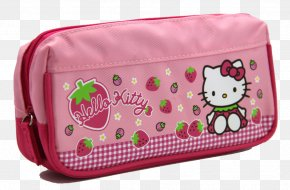 Pink Pencil Case - Hello Kitty Pencil Case PNG