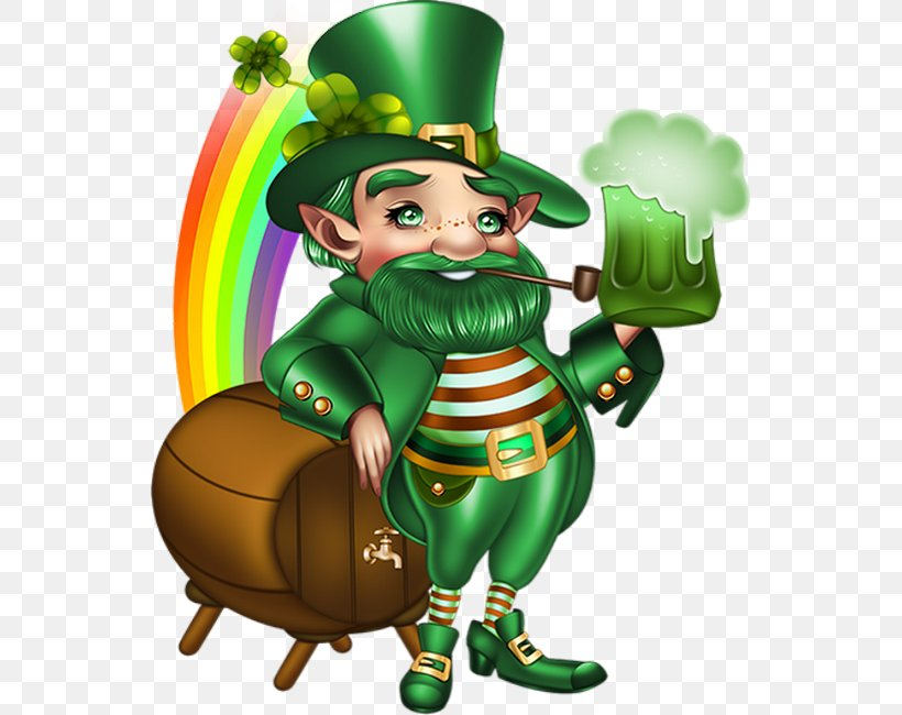 Leprechaun Saint Patrick's Day Clip Art, PNG, 545x650px, 17 March, Leprechaun, Art, Cartoon, Cover Art Download Free