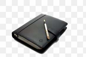 Notepad And Pen - Notebook Pen Office Supplies AUDIO-TECHNICA CORPORATION Headphones PNG
