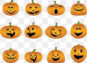 Pumpkin - Jack-o'-lantern Pumpkin Pie Halloween Clip Art PNG