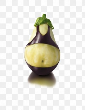 Anthropomorphic Picture Of Eggplant - Hamburger Eggplant Recipe Fruit Vegetable PNG