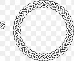 Celtic Border Vector - Celtic Knot Circle Celts Clip Art PNG