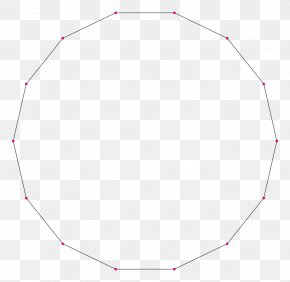 Polygon - Regular Polygon Shape Hexadecagon Circle PNG