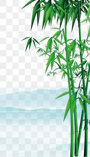 Green Bamboo - China Qingming Chunfen U6e05u660eu96e8u4e0a Illustration PNG
