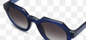 Sunglasses - Goggles Sunglasses Blue Red PNG