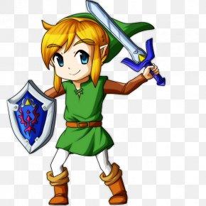 Legend Of Zelda A Link Between Worlds - The Legend Of Zelda: A Link Between Worlds Art Drawing PNG