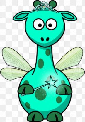 Bunny Ears Clipart - Baby Giraffes Cartoon Clip Art PNG