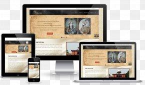 Web Design - Responsive Web Design Taj Museum Web Development PNG