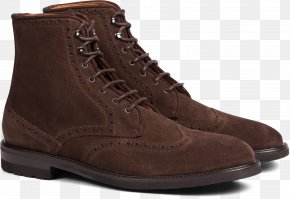 Suede Suit - Suede Suitsupply Boot Brogue Shoe PNG