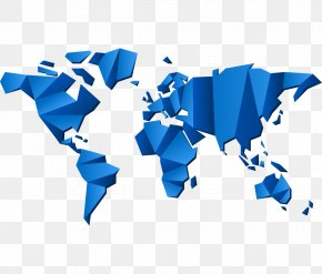 Blue Vector Map - Human Security, Law And The Prevention Of Terrorism Organization Politics Ethics Global Press Institute PNG
