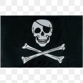 Flag - Jolly Roger Flag Pirate Skull And Crossbones Pennon PNG