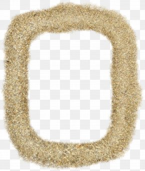 Golden Sand Box - Sand Mortar Brick Picture Frame Wall PNG