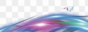 Colorful Lines - Sky Close-up Computer Wallpaper PNG