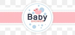 Vector Baby Shower Card - Wedding Invitation Baby Shower Infant Pattern PNG