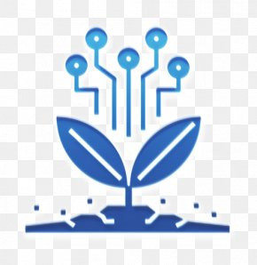 Symbol Electric Blue - Agriculture Icon Farming Icon Future Icon PNG