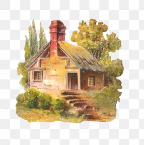 Country House Cliparts - Cottage House Clip Art PNG