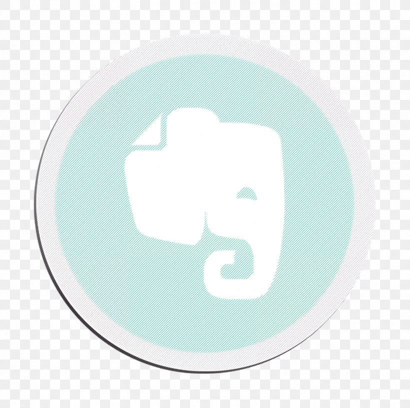 Evernote Icon, PNG, 1404x1400px, Evernote Icon, Aqua, Cloud, Green, Logo Download Free