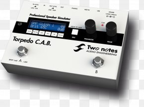 Microphone - Microphone Guitar Amplifier Two Notes Torpedo C.A.B. Two Notes Audio Engineering Effects Processors & Pedals PNG