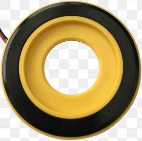 Yellow Halo - Alloy Wheel Circle PNG