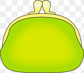 Coin Purse Yellow - Green Yellow Coin Purse PNG