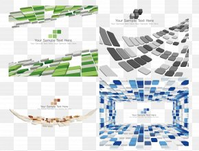 Three-dimensional Sense Of Space Squares Background - Euclidean Vector Download Clip Art PNG