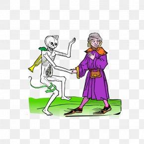 Dance Illustrations - The Graveyard Book Danse Macabre Dance Clip Art PNG
