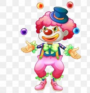 Cartoon Clown - Clown Circus Royalty-free Illustration PNG
