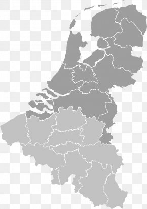 Provinces Of The Netherlands European Union Map PNG