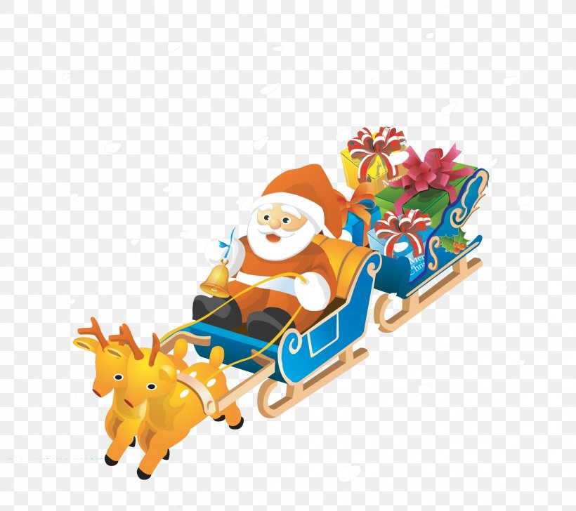 Santa Claus Reindeer Mrs. Claus Christmas NORAD Tracks Santa, PNG, 2373x2107px, Santa Claus, Antler, Art, Christmas, Christmas Decoration Download Free