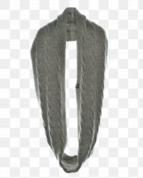 Ding - Scarf Neck Wool Grey PNG