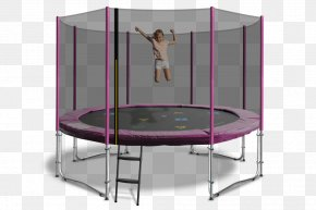 Trampoline - Trampoline Safety Net Enclosure Jumping Roof Trampolining PNG