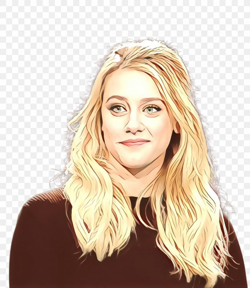 Hair Face Blond Eyebrow Hairstyle, PNG, 1863x2148px, Cartoon