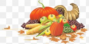 Huge Benefits Struck Thanksgiving - Thanksgiving Holiday Cornucopia Clip Art PNG