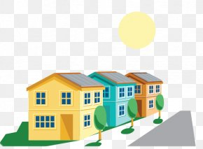 Solar Energy House - Product House Residential Area Architecture Energy PNG