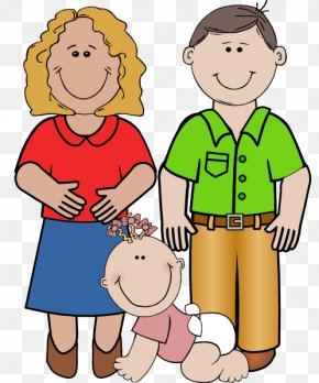 Family Pictures Images - Father Mother Daughter Parent Clip Art PNG