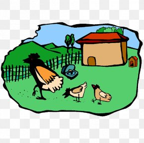 Chicken - Chicken Coop Farm Poultry Clip Art PNG