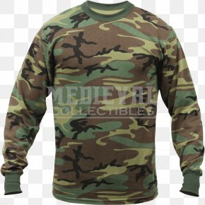 T-shirt - Long-sleeved T-shirt Amazon.com Multi-scale Camouflage PNG