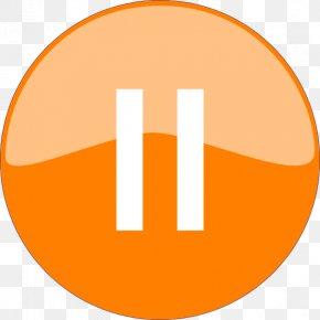Pause Button Transparent Image - Symbol Clip Art PNG