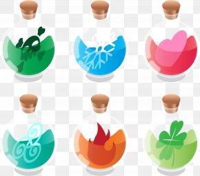 Vector Magic Bottle - Bottle Clip Art PNG