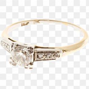 Wedding Ring - Wedding Ring Gold Engagement Ring Diamond PNG