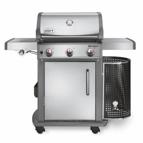 Grill - Barbecue Grill Weber-Stephen Products Stainless Steel Grilling Gasgrill PNG