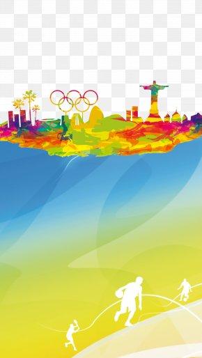 Rio Olympics Decoration - 2016 Summer Olympics Rio De Janeiro Sport PNG