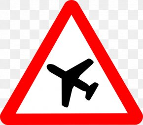 Aeroplane Logo - Aircraft Road Signs In Singapore Flight The Highway Code Traffic Sign PNG