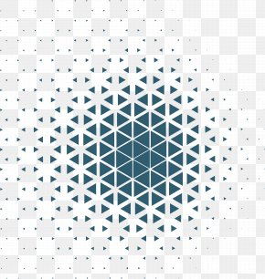 Business Blue Triangular Pattern - Geometry Triangle Geometric Abstraction Pattern PNG