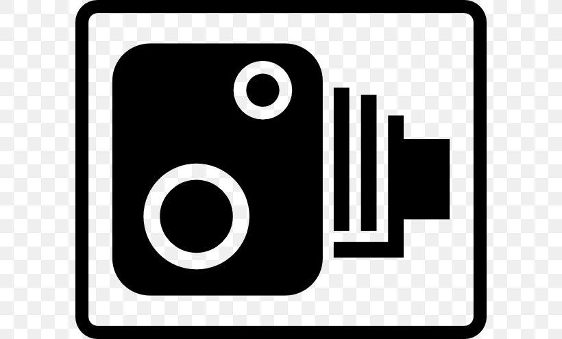 United Kingdom Traffic Enforcement Camera Speed Limit Enforcement Clip Art, PNG, 600x495px, United Kingdom, Black And White, Brand, Camera, Logo Download Free